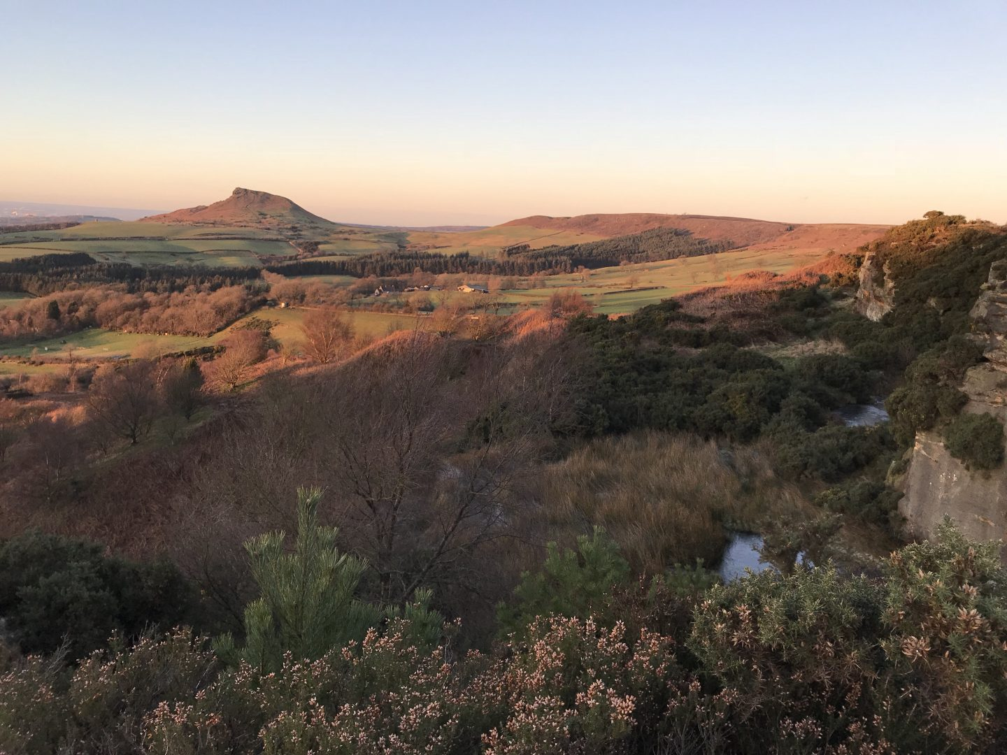 What a view! Roseberry Topping, North Yorkshire