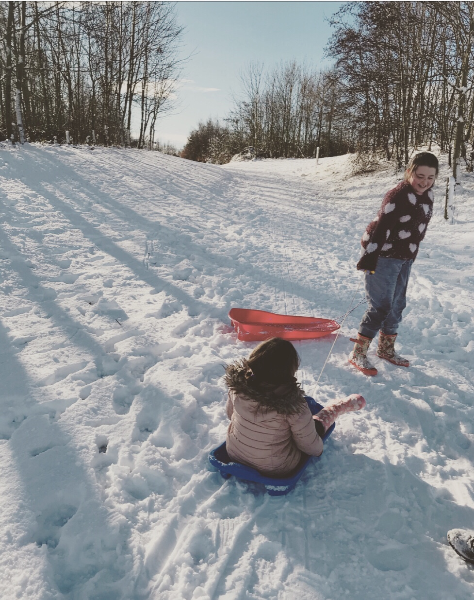 Top 10 things to do on a snow day with your​ children
