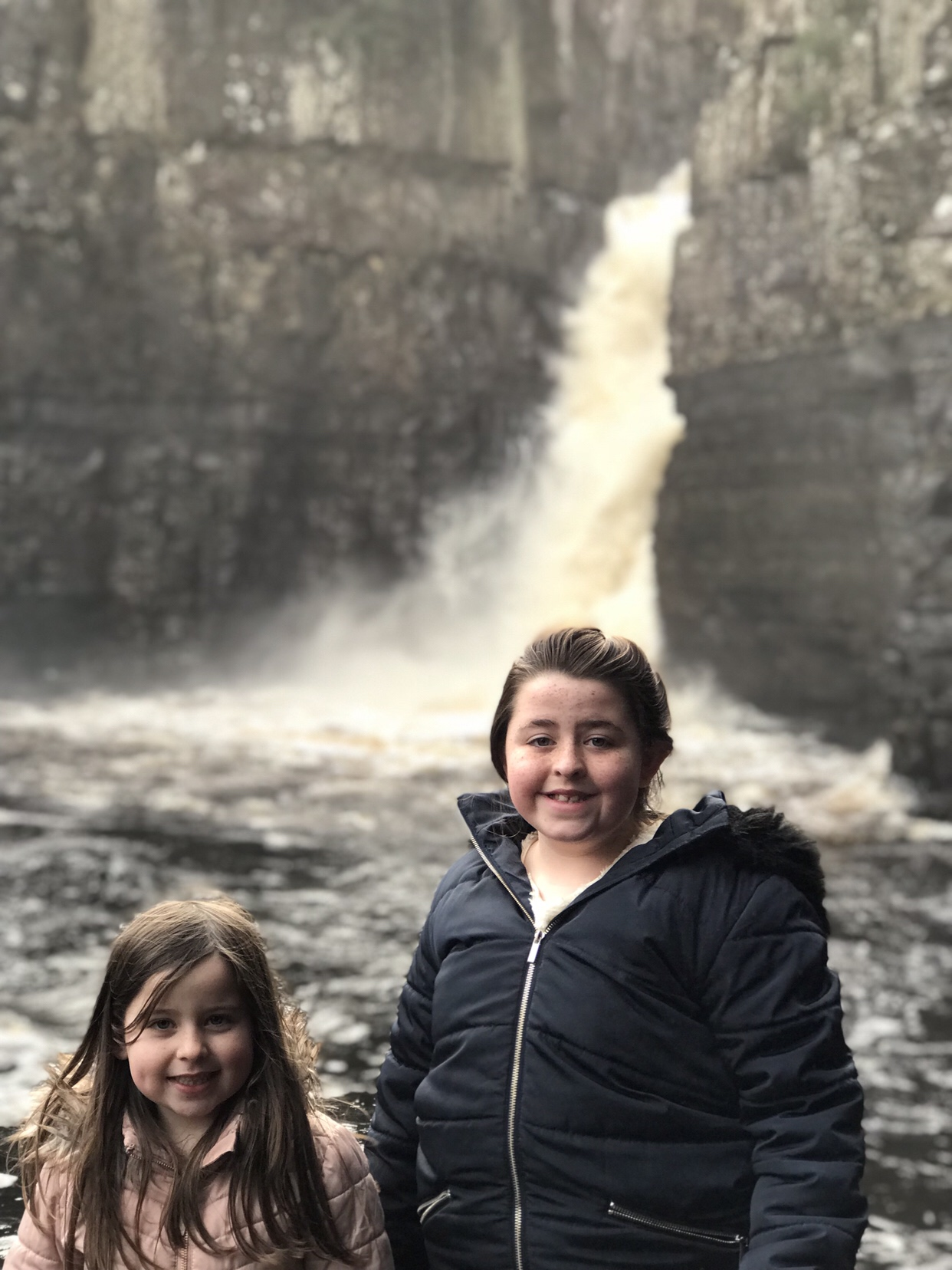 An afternoon out to High Force & Bowlees Picnic Area
