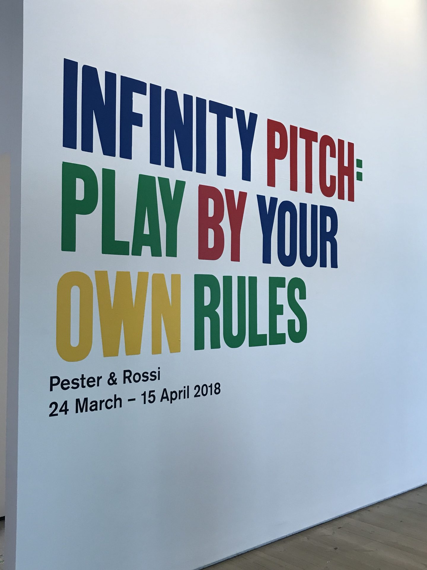 Free family fun – Infinity Pitch at the Baltic