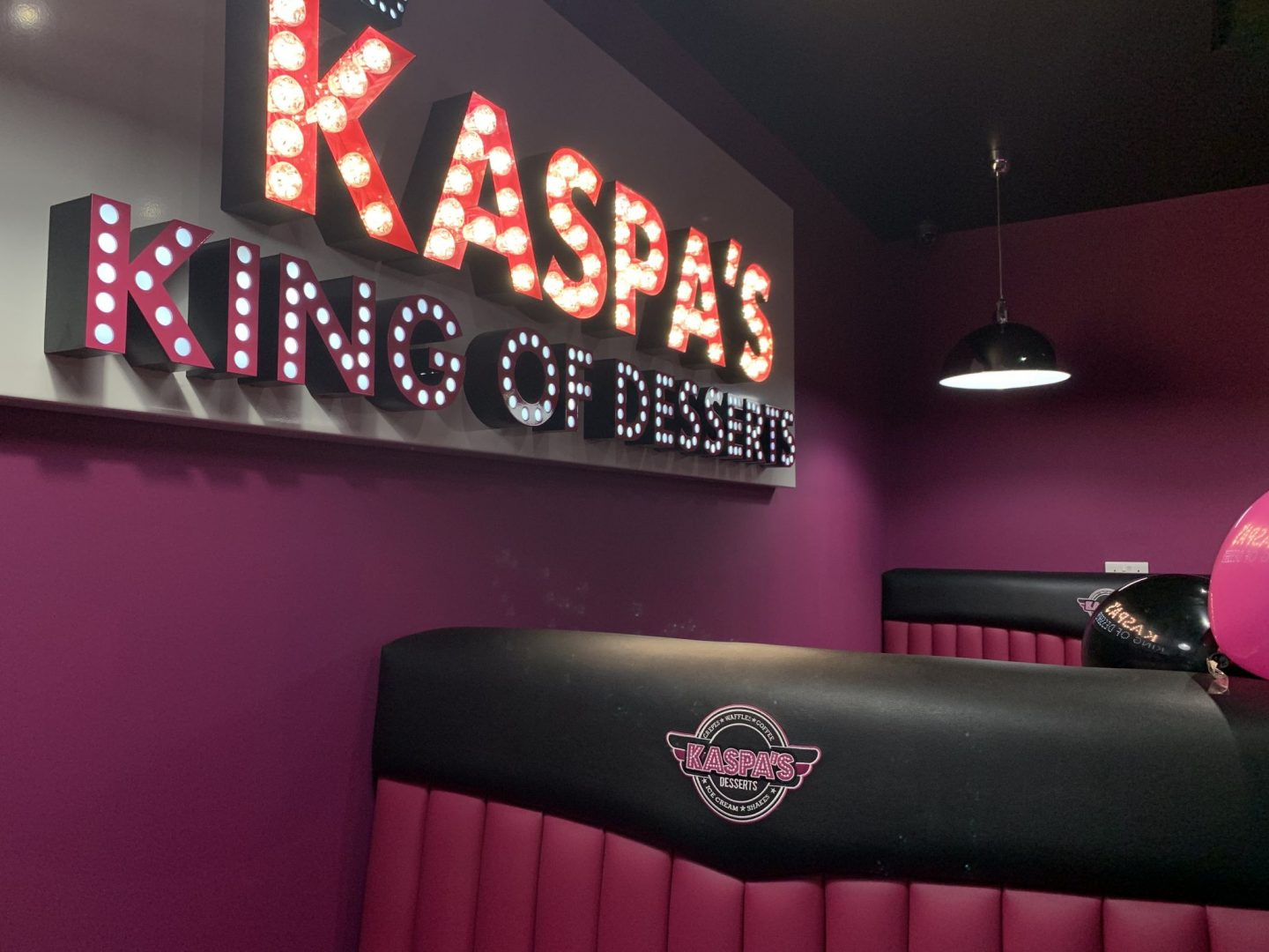 Kaspa's Darlington, The King of Desserts