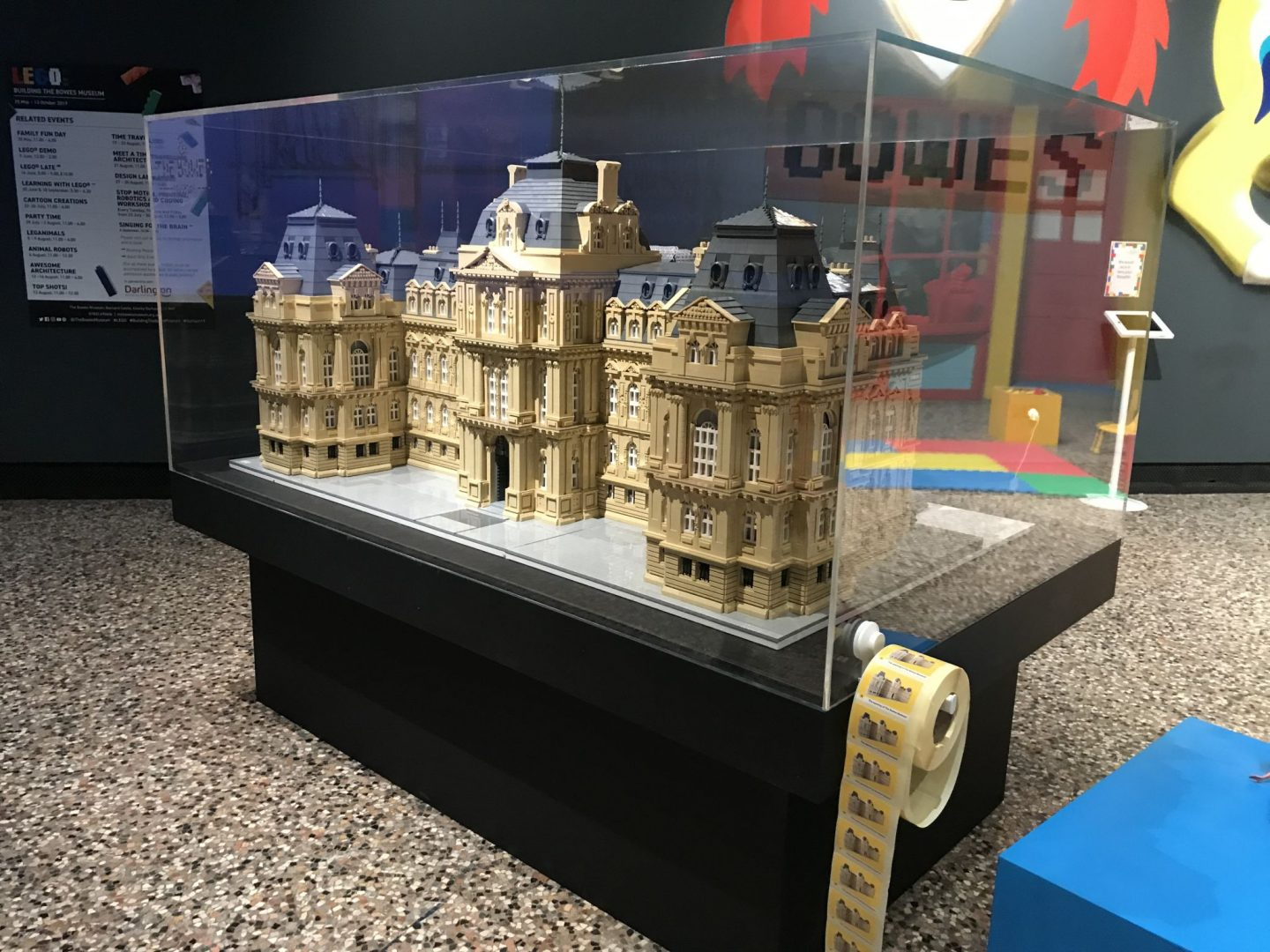 LEGO®: Building The Bowes Museum (Ad)