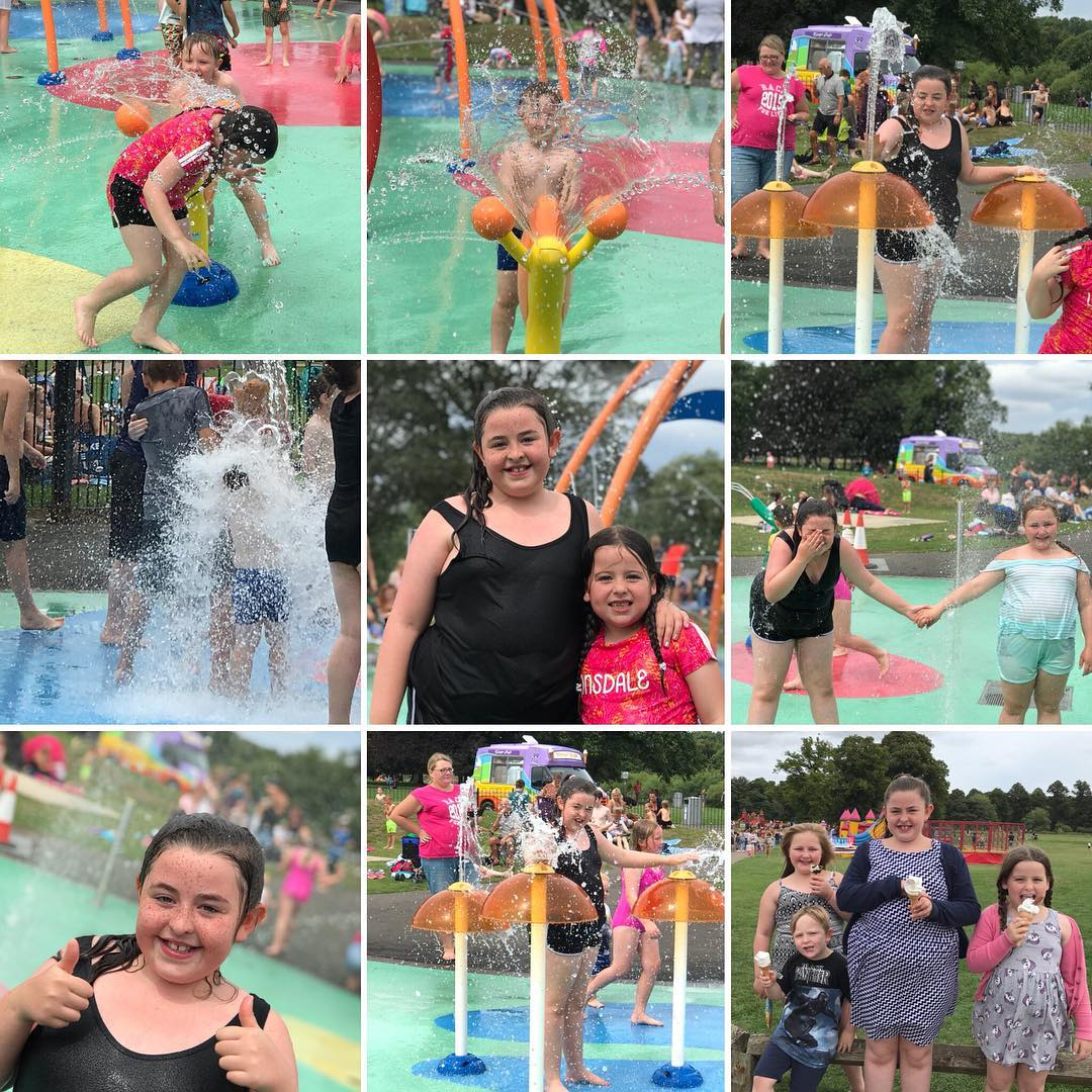 Chester Lee Street County Durham Splash Park
