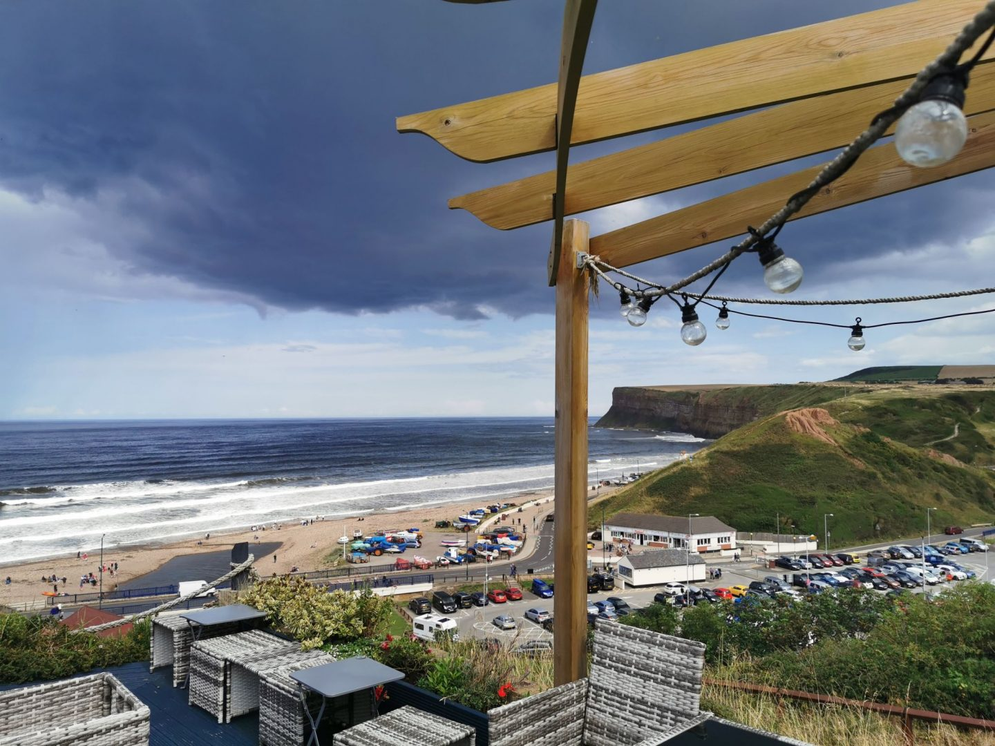 Lunch with a view at The Spa Hotel in Saltburn (Ad)