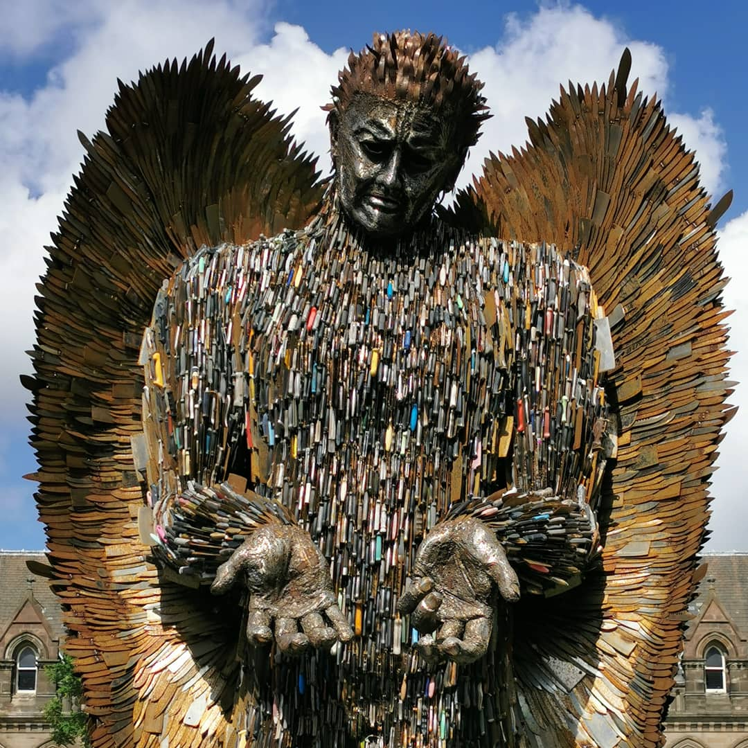 The Knife Angel Tour – Middlesbrough