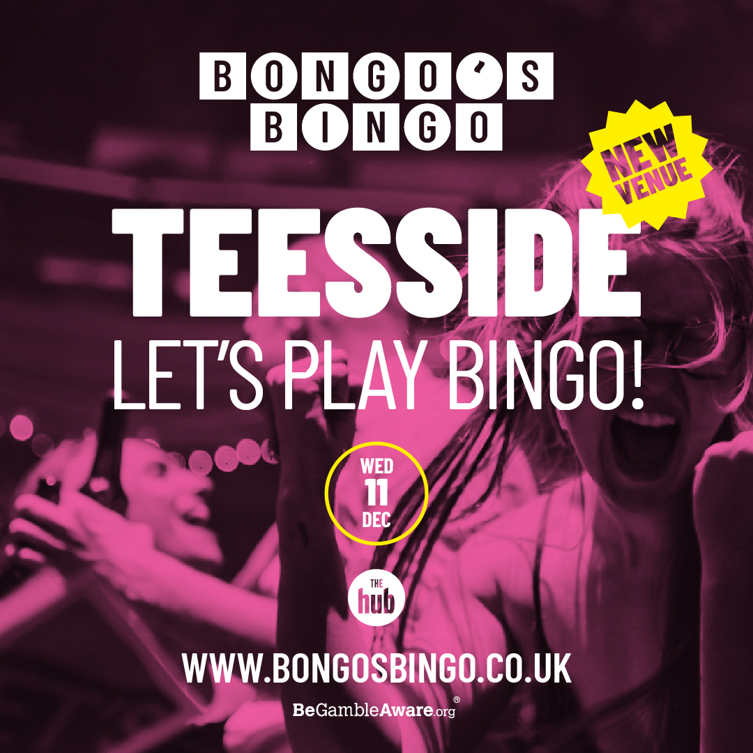 #Ad – Bongo's Bingo is coming to Teesside – All you need to know.