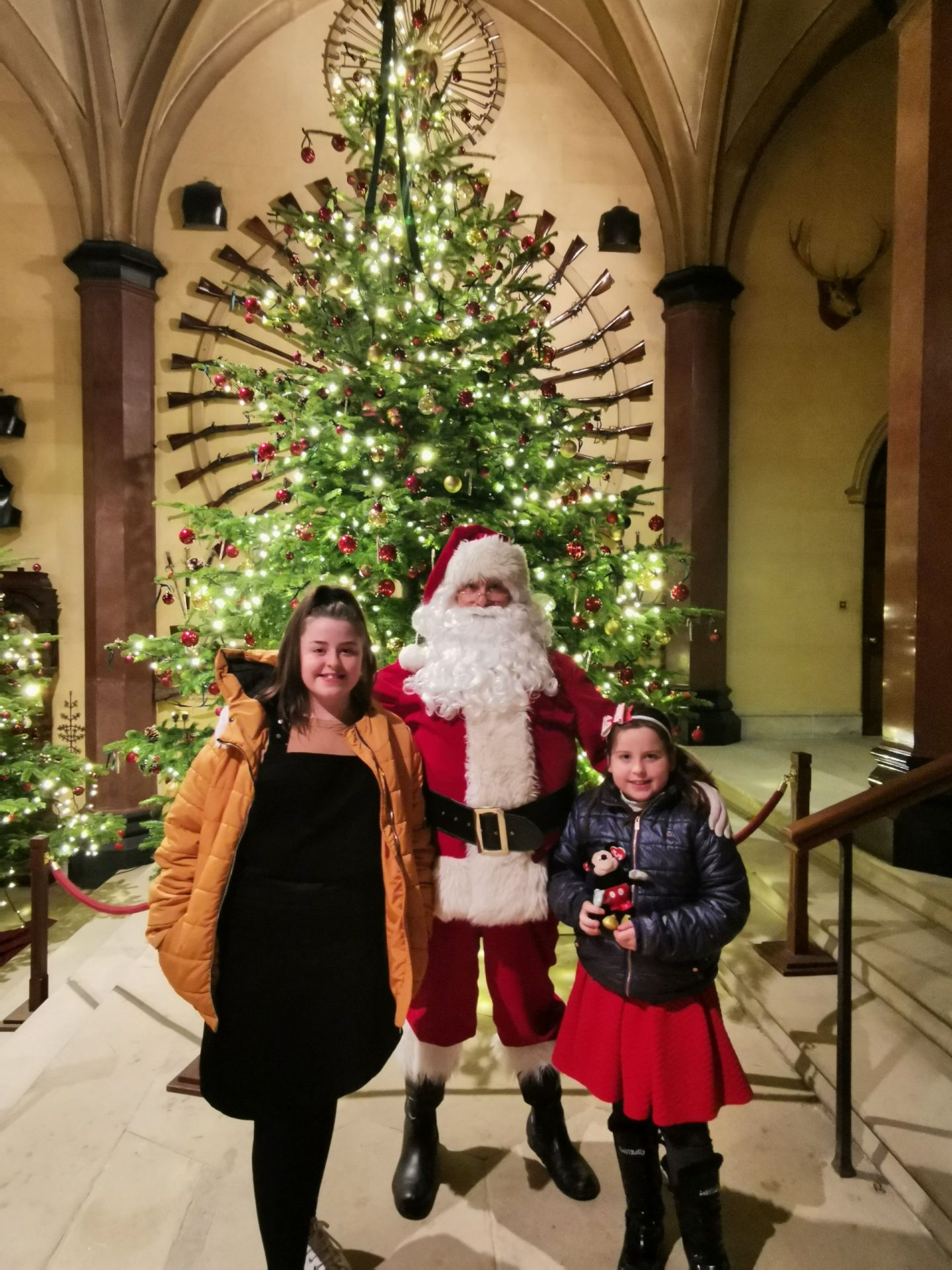 Fire Side Stories with Father Christmas at Raby Castle – #AD