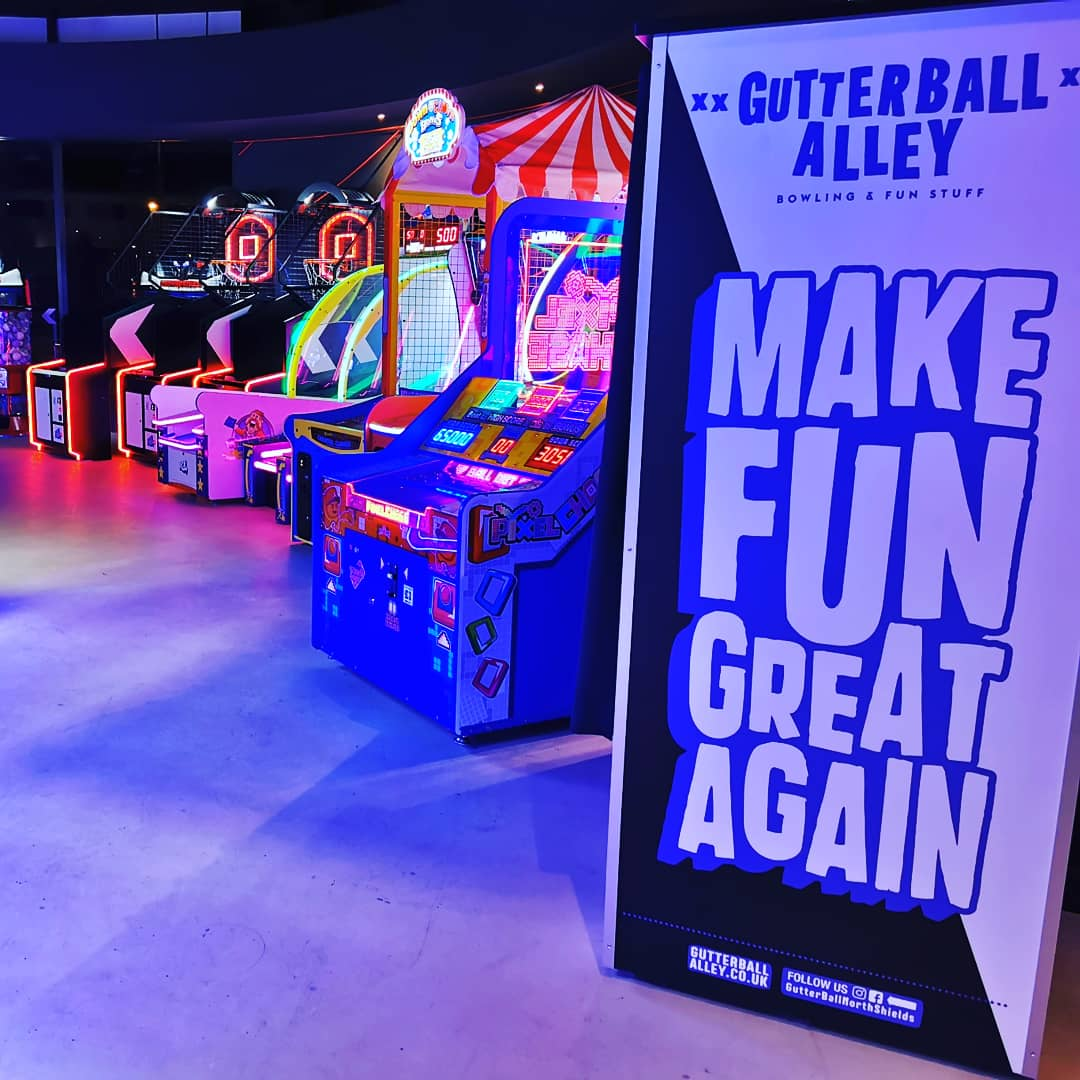 Family fun at Gutterball Alley, North Shields #Ad
